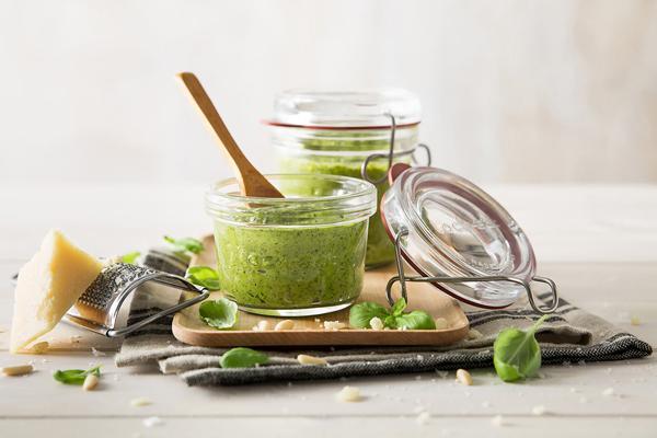 Pesto maken