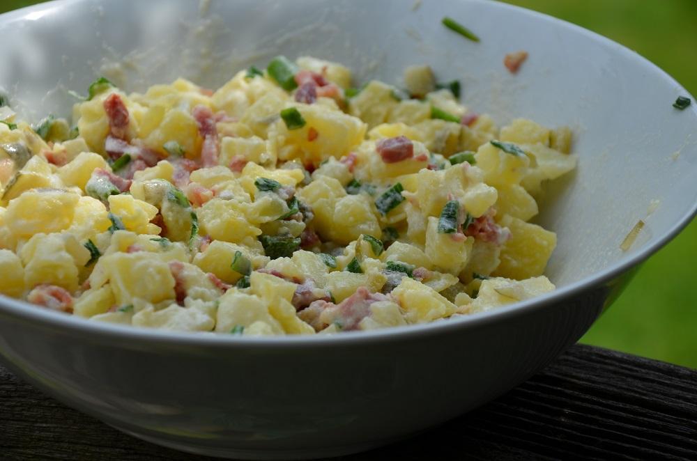 Aardappelsalade met maggi