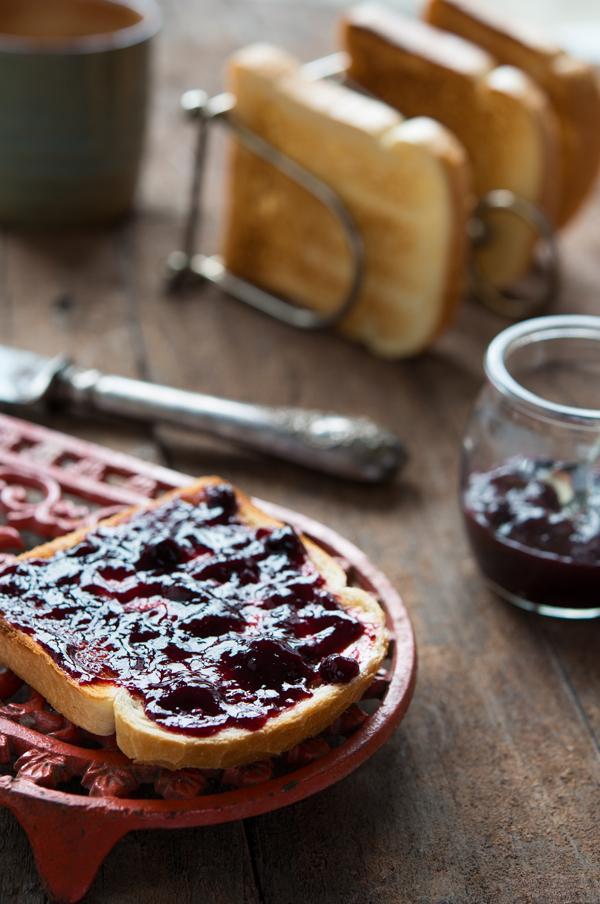 Aardbeienjam met balsamico / Aardbeienconfituur met balsamico