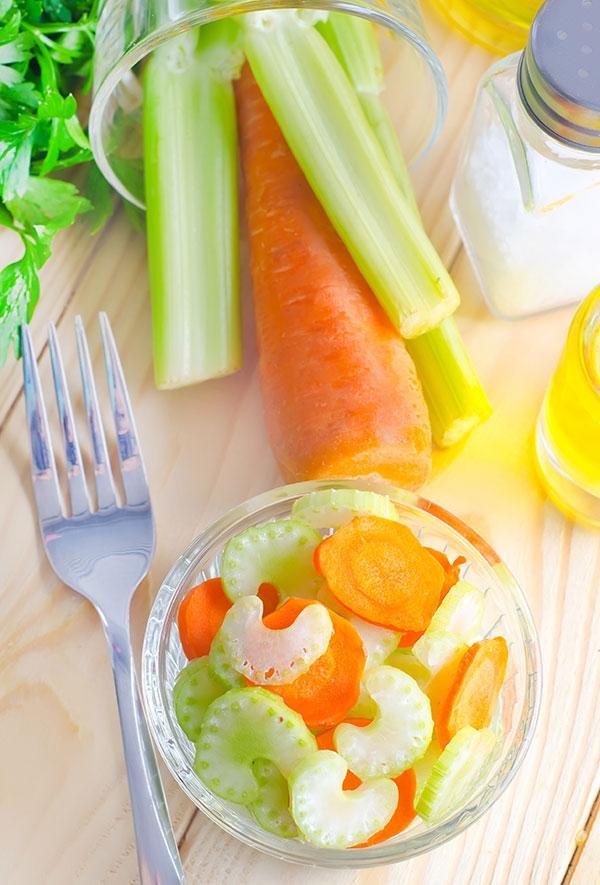 Appel wortelsalade