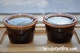 Druivenjam met honing / Druivenconfituur met honing