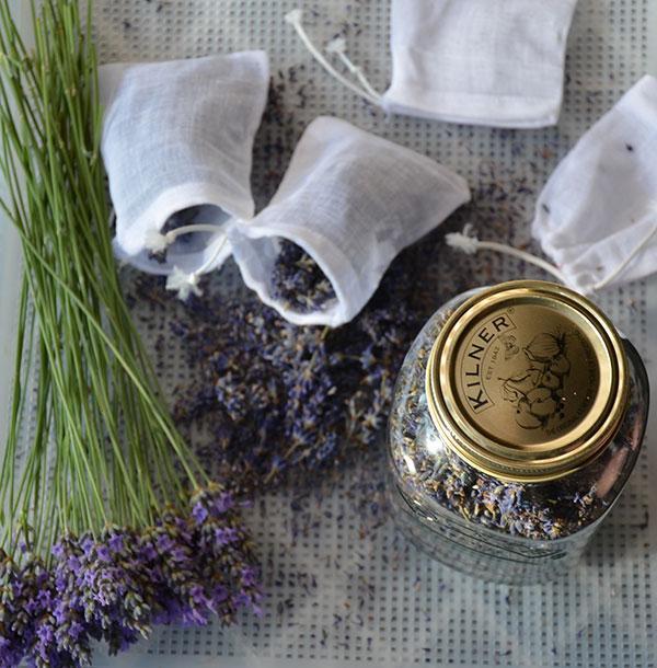 Lavendel tegen motten