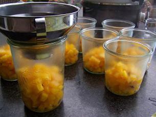 Pompoenen zoet-zuur