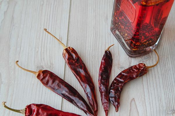 Rode peper olie