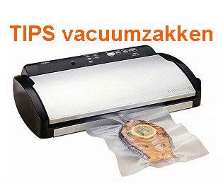 Tips vacuumzakken