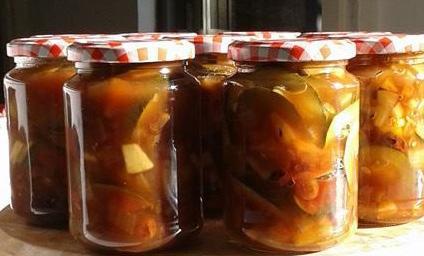 Tomatenchutney met komkommer
