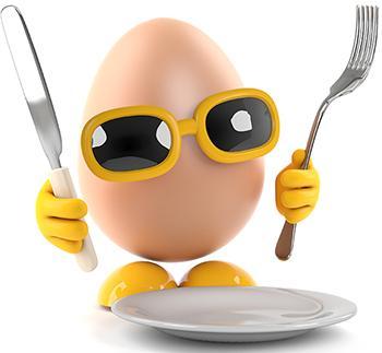 Eieren inmaken wecken