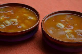 Witte bonen- tomatensoep