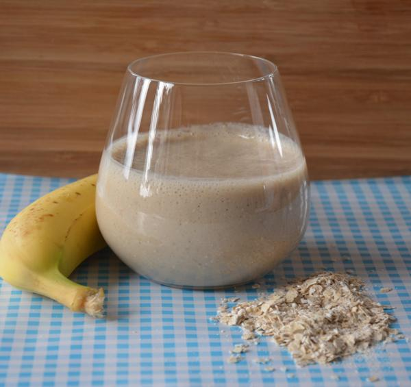 Bananen smoothie met havermout