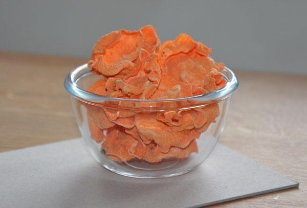 Drogen van zoete aardappelen