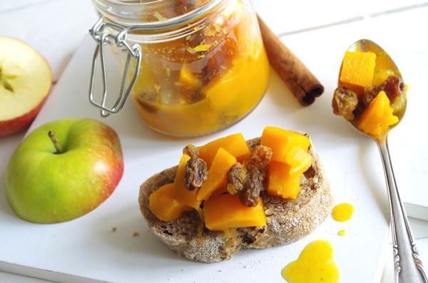 Pompoenchutney met appel