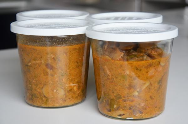 Varkensvlees met champignonroomsaus