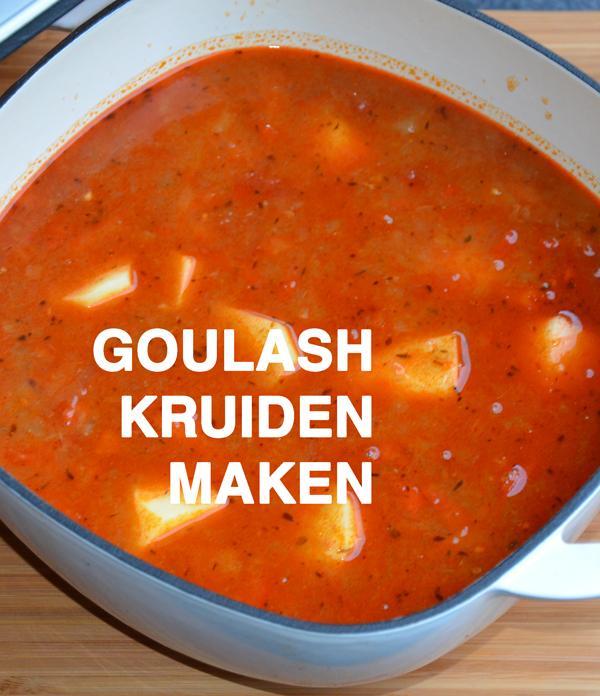 Goulash Kruiden Maken Weckenonlineeu