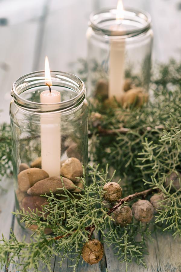 Top Zelf kerststuk maken met jampotten – WECKENonline.eu VX37