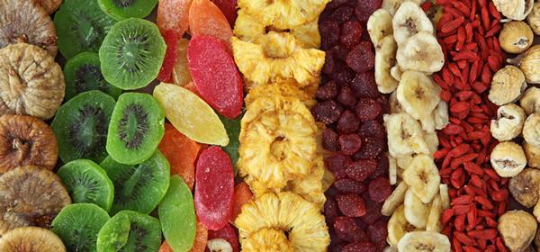Is gedroogd fruit uit de winkel gezond