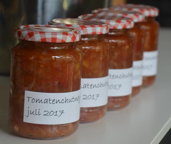 Tomatenchutney met knoflook