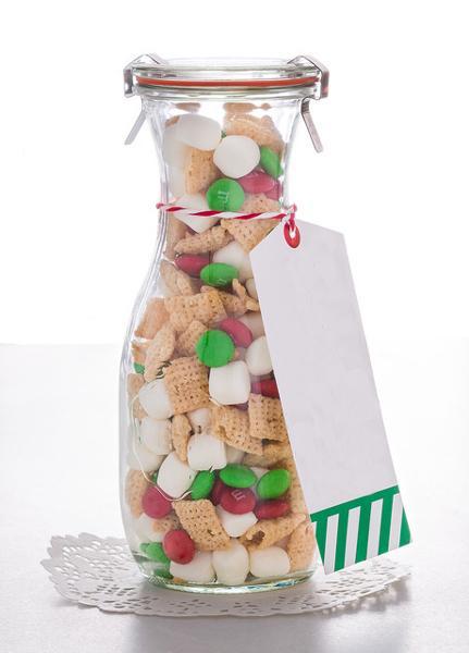 Sapfles van WECK met snoep en koekjes