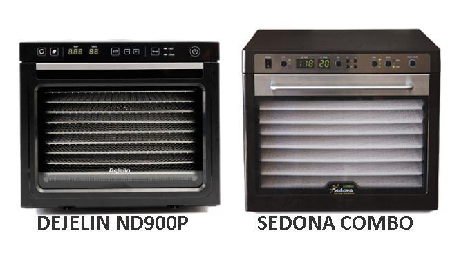 Vergelijk dejelin voedseldroger sedona combo