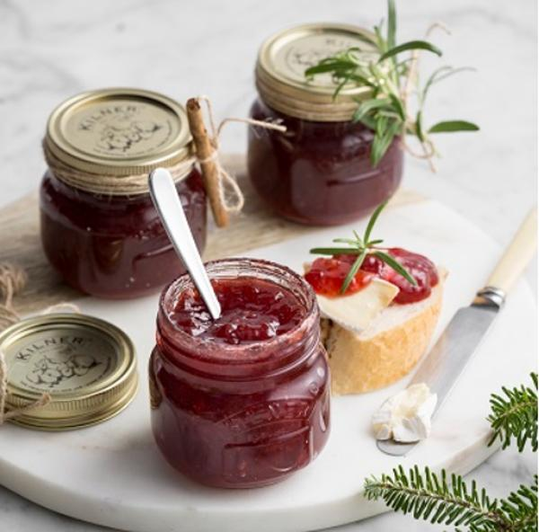 Cranberry saus met port
