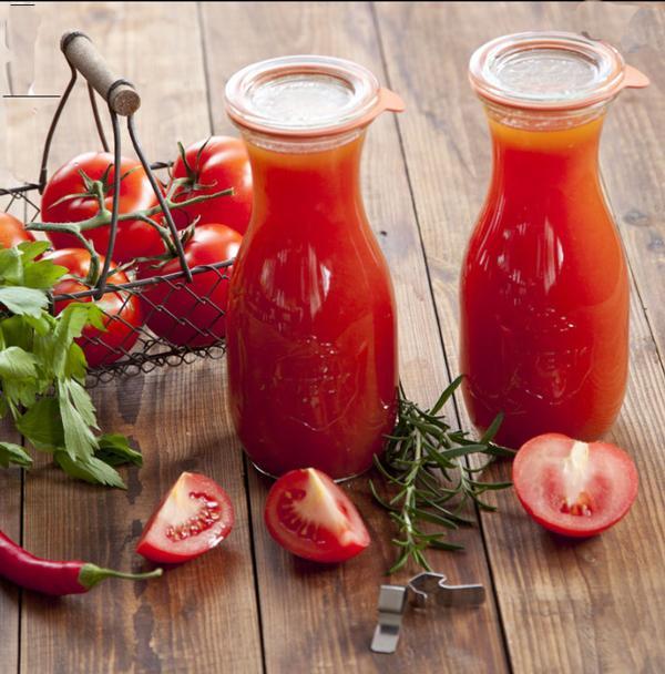 Tomatensap wecken