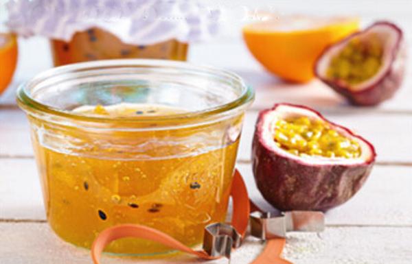 Sinaasappel – passievruchten jam / confituur